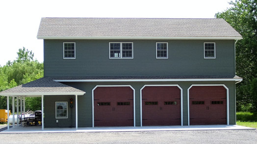 Pole barn homes by parco in newfane ny pole barn homes for Post frame house plans